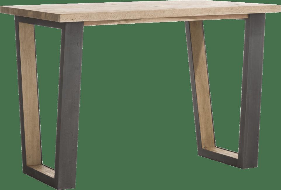 Metalox - table de bar 130 x 90 cm (hauteur 92 cm)