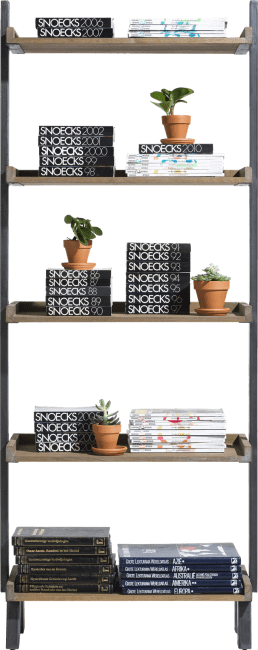 Vitoria - boekenkast 5-niches - 80 cm