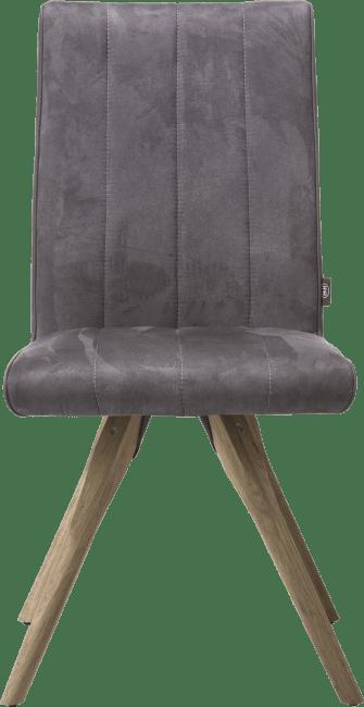 Elza - eetkamerstoel - houten frame - stof calabria 4 kleuren