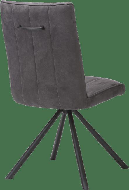 Elza - chaise - 4 pieds noir - tissu calabria 4 couleurs