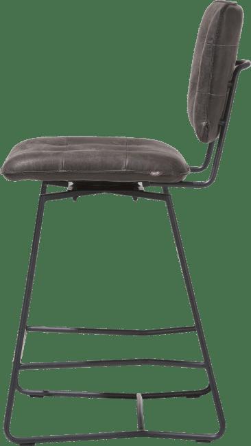 Julien - chaise de bar - cadre noir - corsica