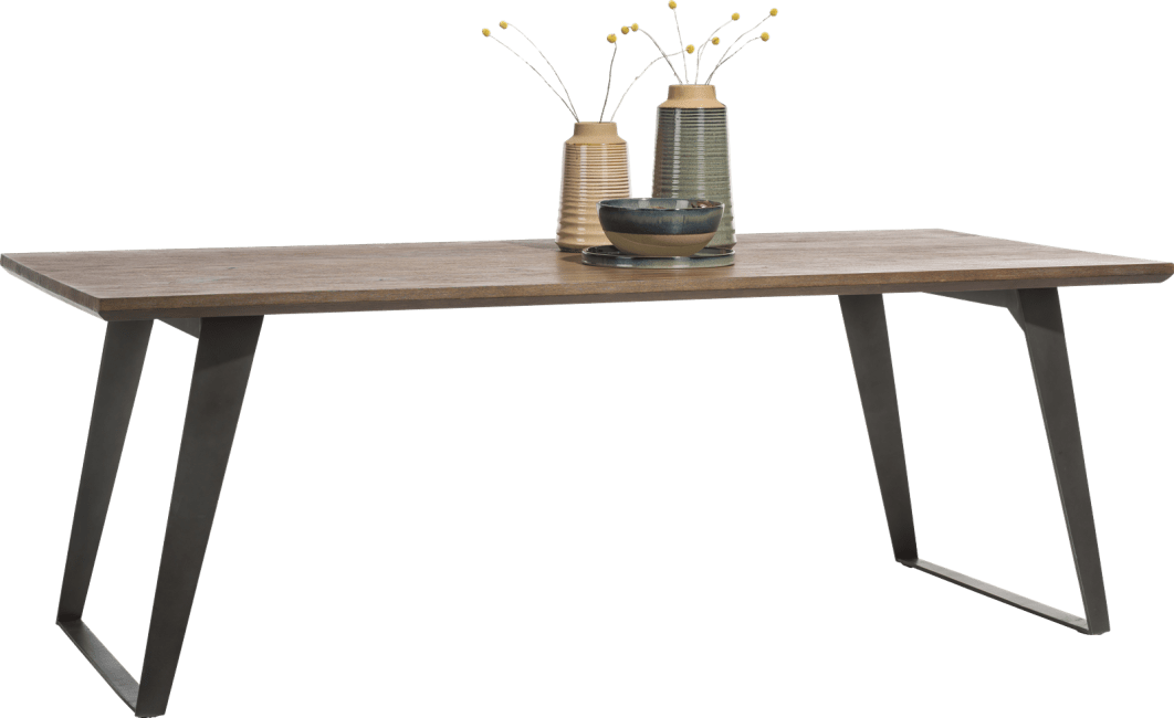 Box - table 240 x 100 cm - pied carre