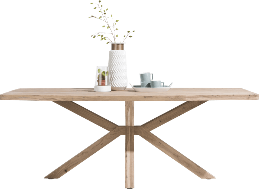 Quebec - table 180 x 100 cm - pieds en bois