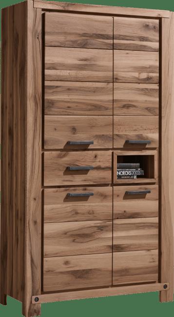 Maitre - bergkast 110 cm - 4-deuren + 1-lade + 1-niche (+ led-spot)