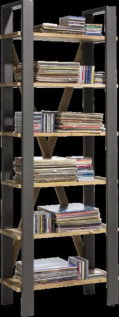 Farmland - boekenkast 75 cm - 6-niches