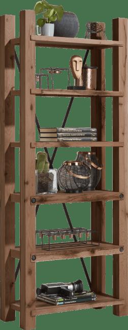 Maitre - boekenkast 75 cm - 6-planken