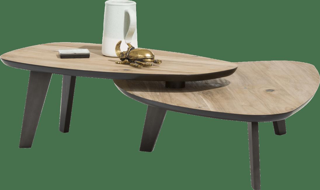 Prato - salontafelset - 2-delig ca. 115 x 90 cm & 102 x 61,5 cm