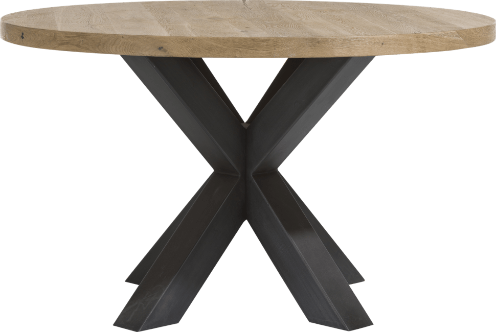 Metalox - table rond 130 cm