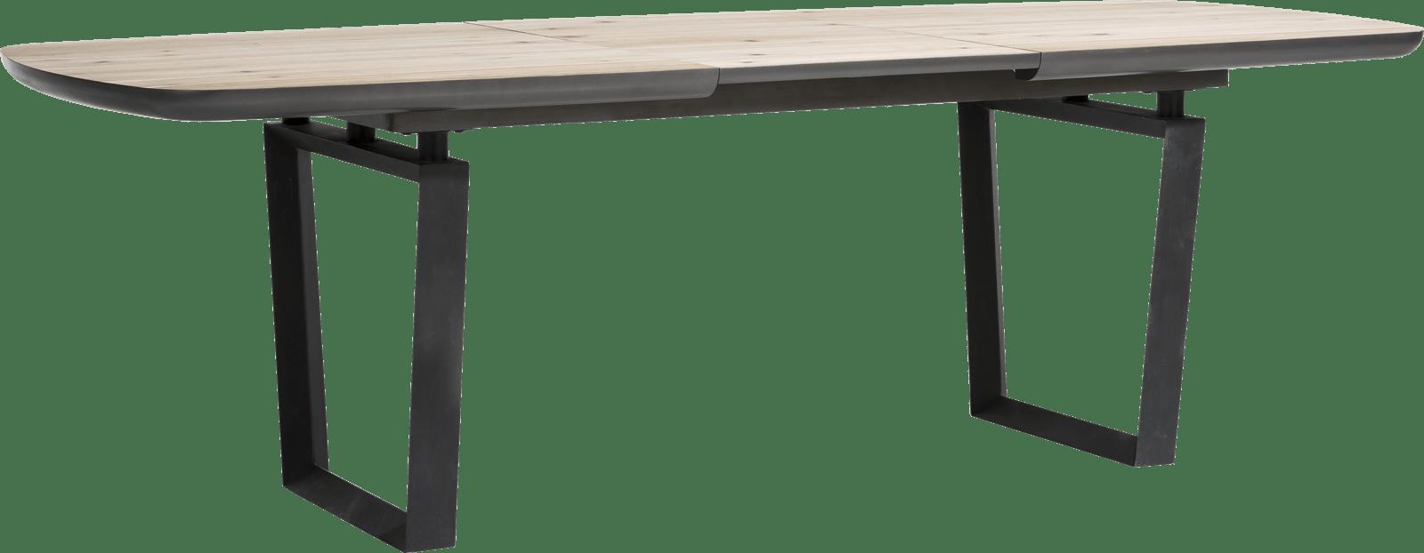 Prato - uitschuiftafel 180 (+ 60) x 100 cm