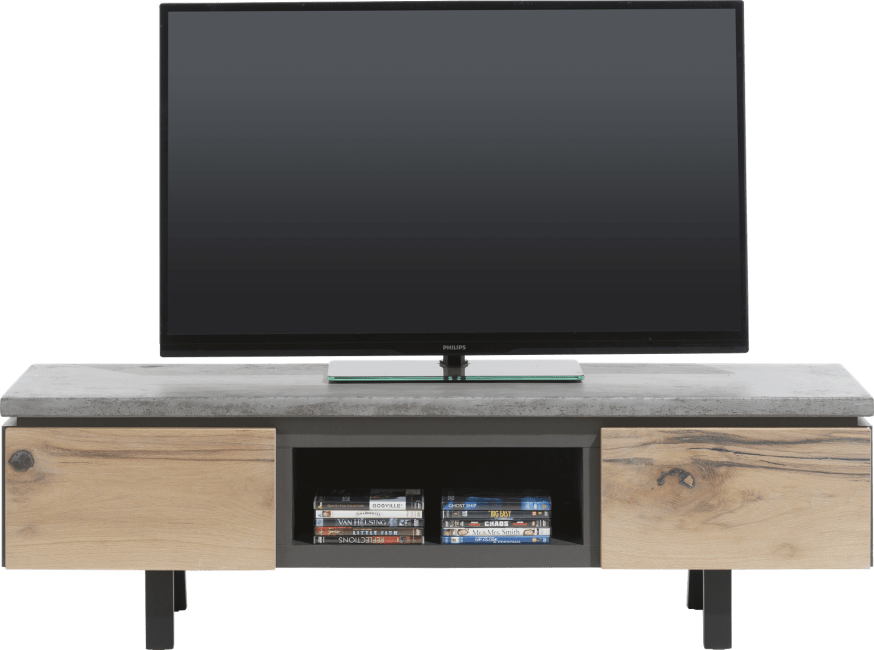 Tv Kast 150 Breed.Myland Tv Dressoir 150 Cm 1 Lade 1 Klep 1 Niche