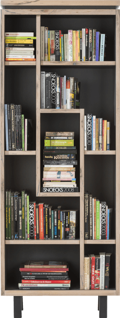 Myland - bibliotheque 75 cm - 9-niches