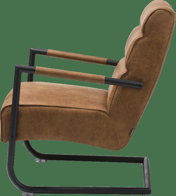 Natal - easy chair - black frame