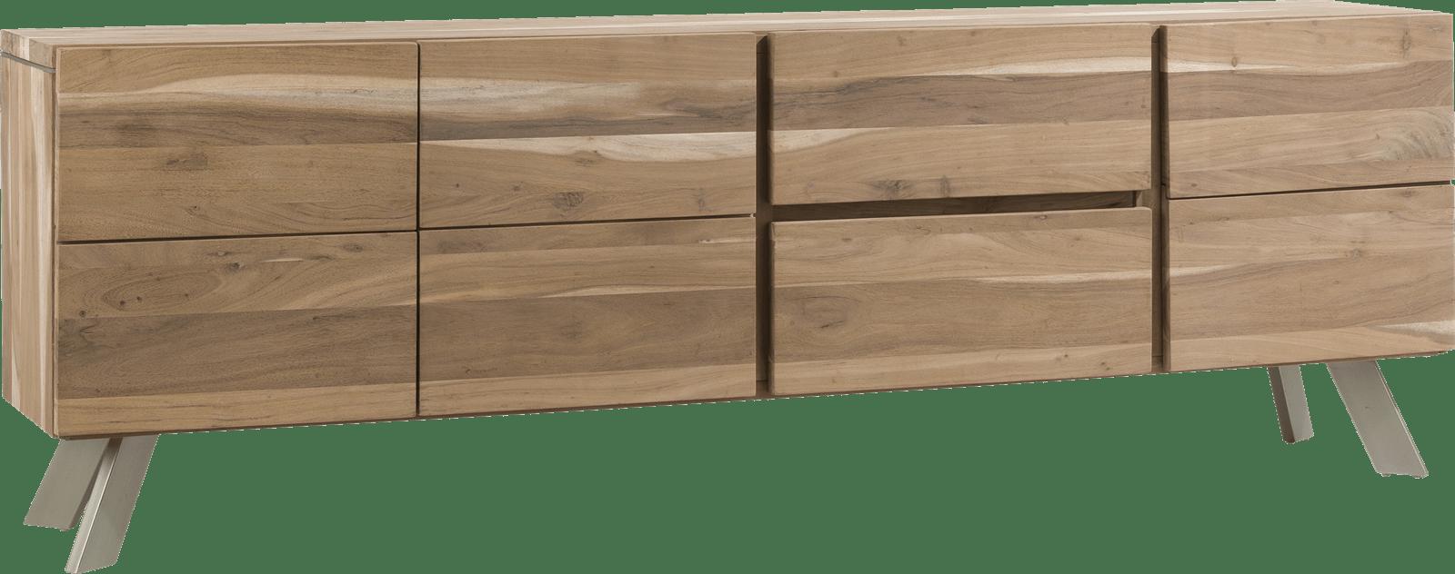 Garda - sideboard 220 cm - 3-tueren + 2-laden