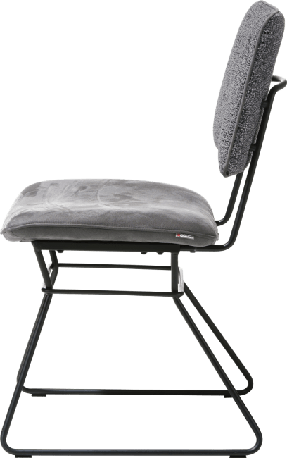 Otis - chaise - cadre noir - combinaison kibo / fantasy