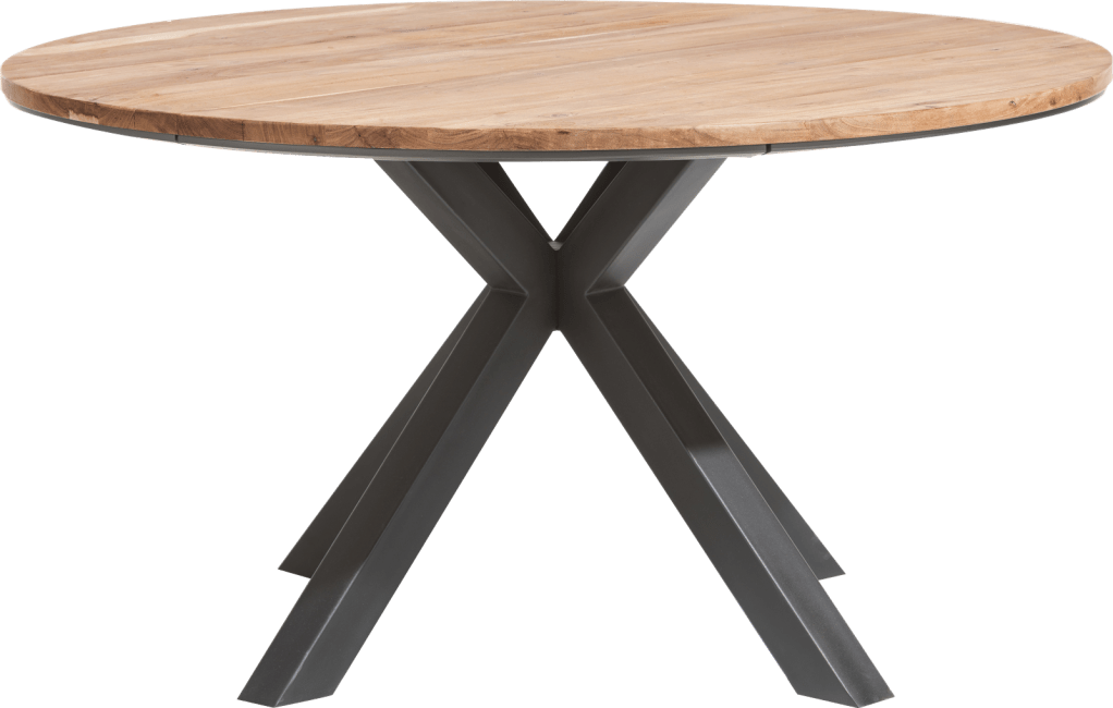 Colombo - table rond 150 cm chene kikar + mdf