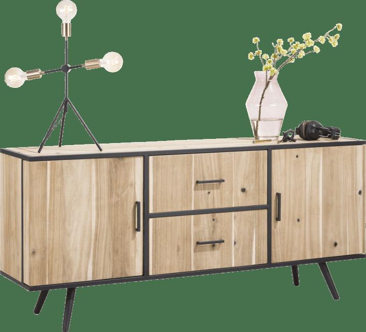 Kinna - dressoir 180 cm - 2-deuren + 2-laden