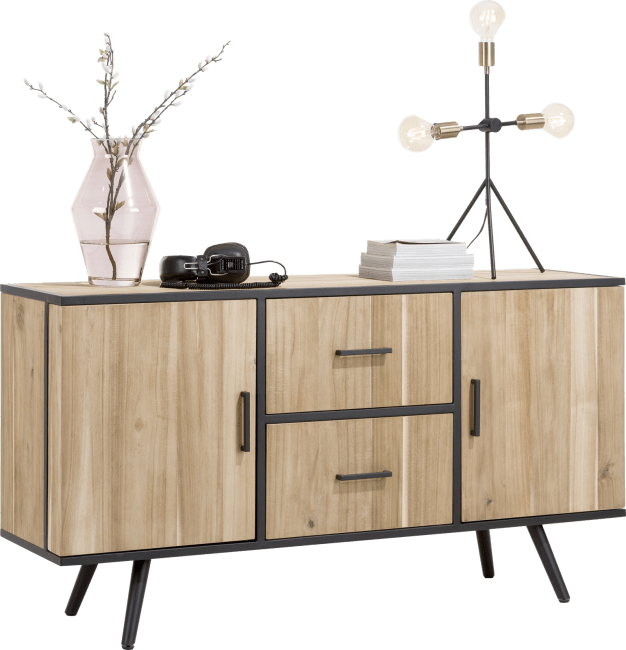 Kinna - dressoir 150 cm - 2-deuren + 2-laden