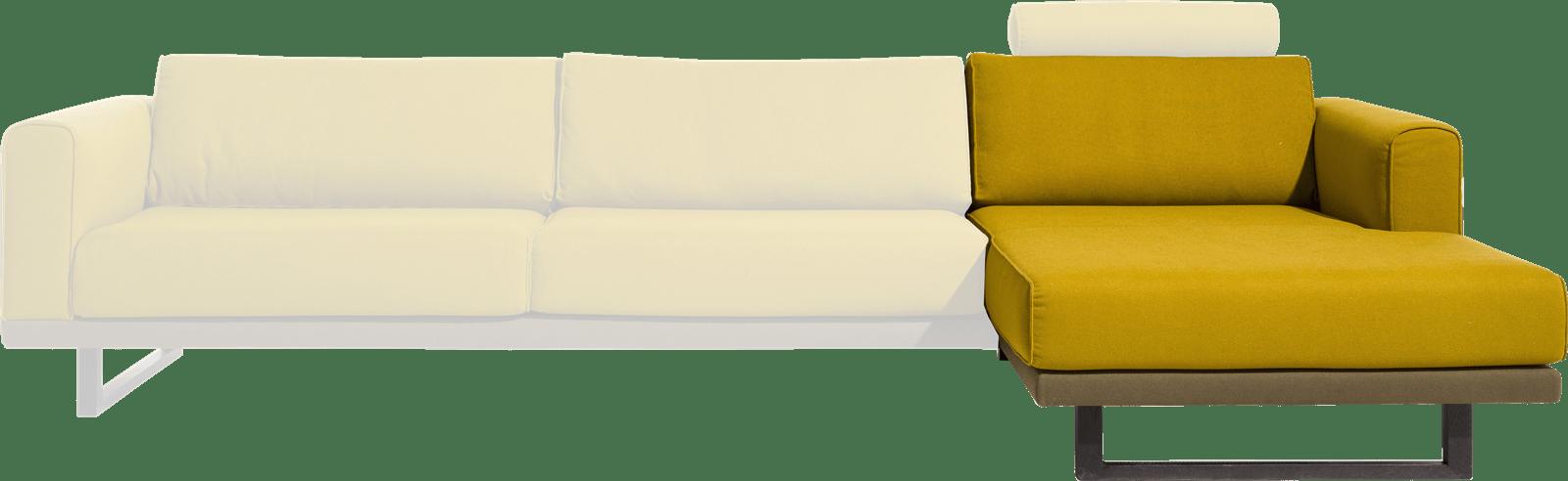 Silves - longchair rechts