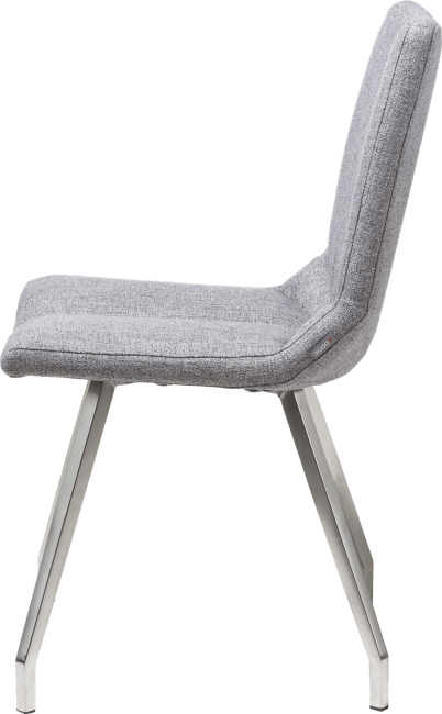 Artella - chaise 4 pieds inox - lady gris ou mint