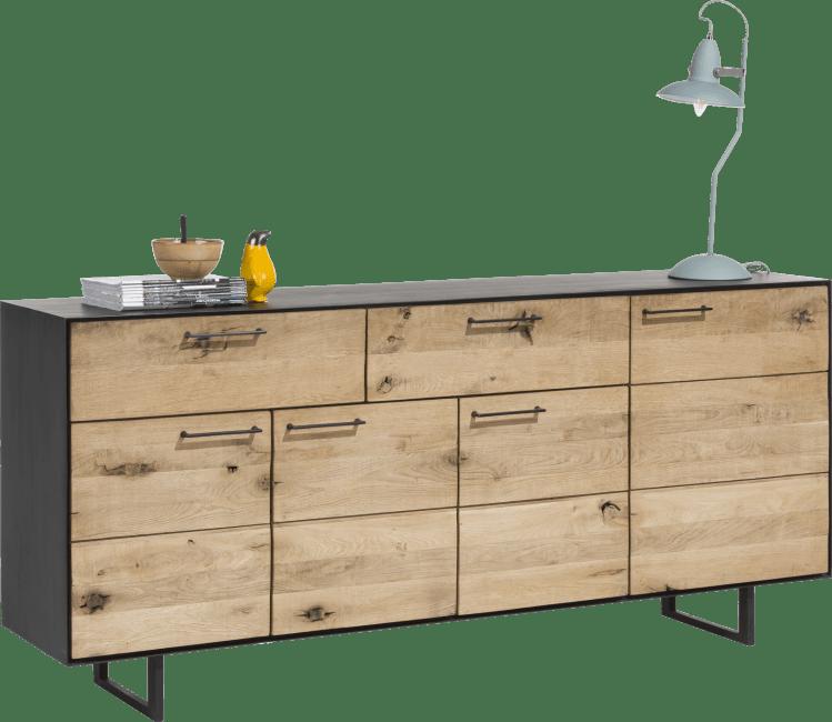 Barcini - sideboard 4-tueren + 2-laden - 190 cm