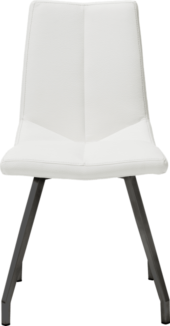 Arto - chaise noir 4 pieds