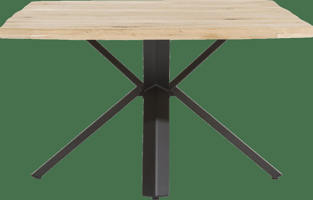 Maddox - table 150 x 130 cm - bois - pied forme etoile