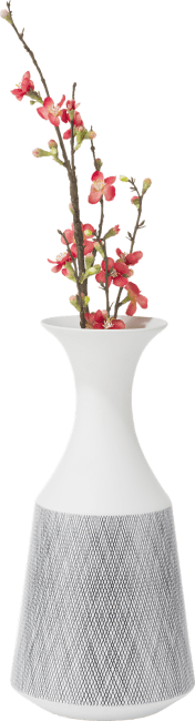 Coco Maison - vaas dagny - large - hoogte 41,5 cm - wit