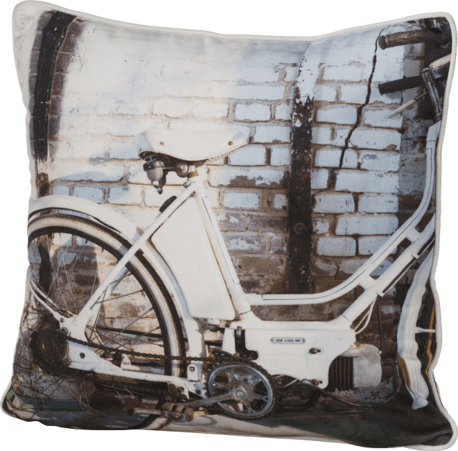 Coco Maison - coussin bicycle 45 x 45 cm