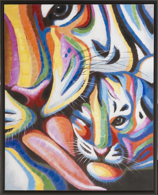 Coco Maison - schilderij me and my baby - 85 x 105 cm