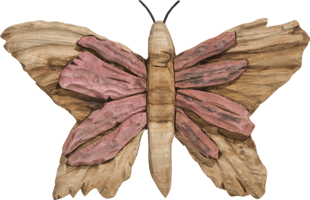 Coco Maison - decoration murale butterfly small - rose