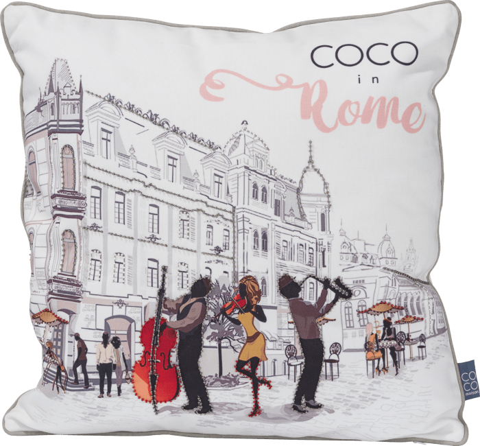 Coco Maison - kussen in rome - 45 x 45 cm