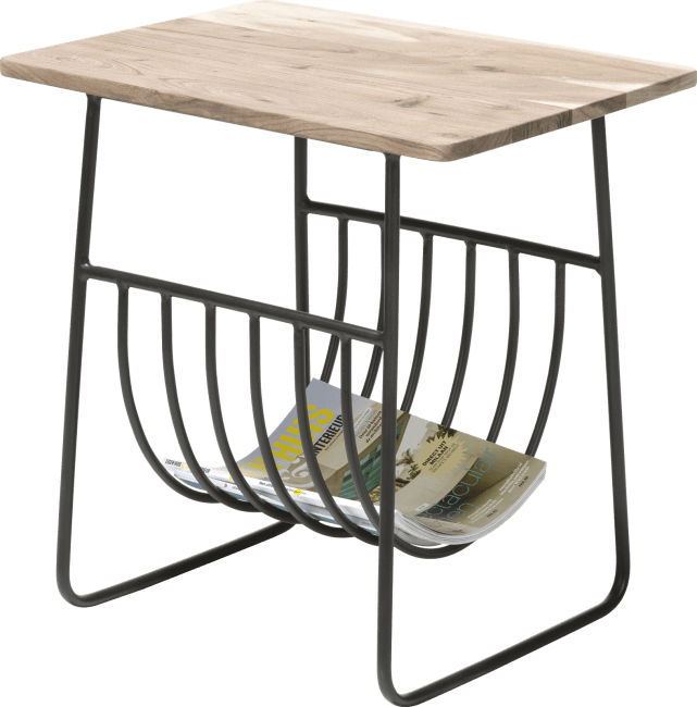 Coco Maison - table d'appoint surat + etagere de magazine