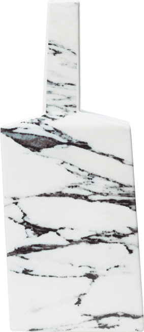 Coco Maison - vaas yellow marble large