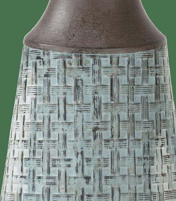 Coco Maison - vase elvira large - bleu