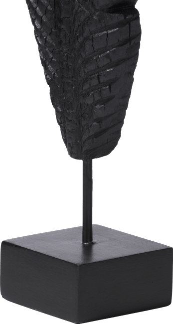 Coco Maison - beeld feather large - charcoal