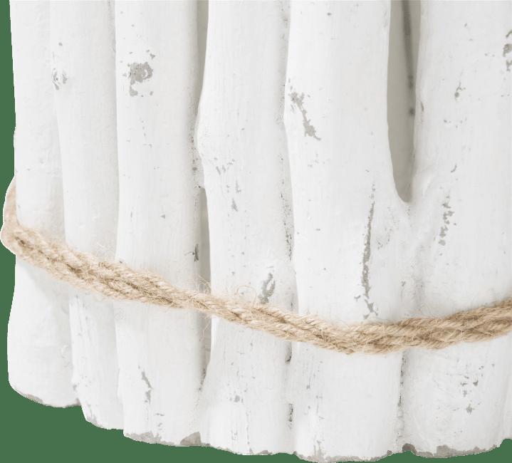 Coco Maison - chandelier pierre large - hauteur 28 cm