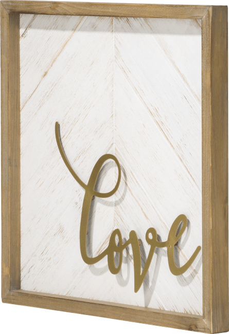 Coco Maison - decoration mural love - 40 x 40 cm