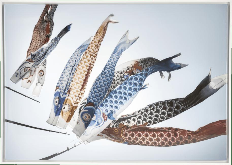 Coco Maison - peinture fish kyte - 74 x 104 cm