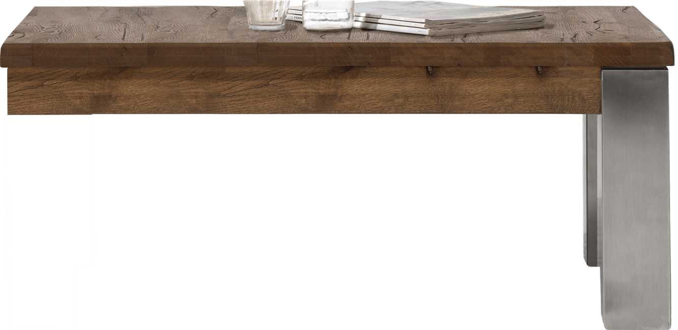 Masters - salontafel 120 x 90 cm - rvs 9x9