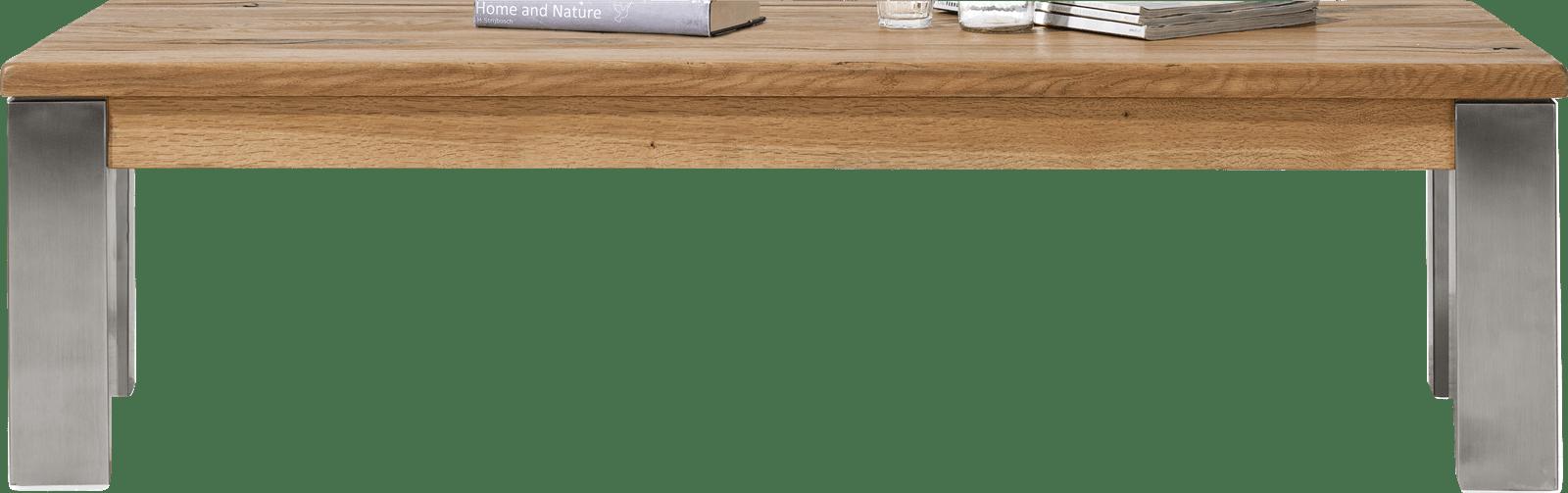 Masters - salontafel 140 x 90 cm - rvs 9x9