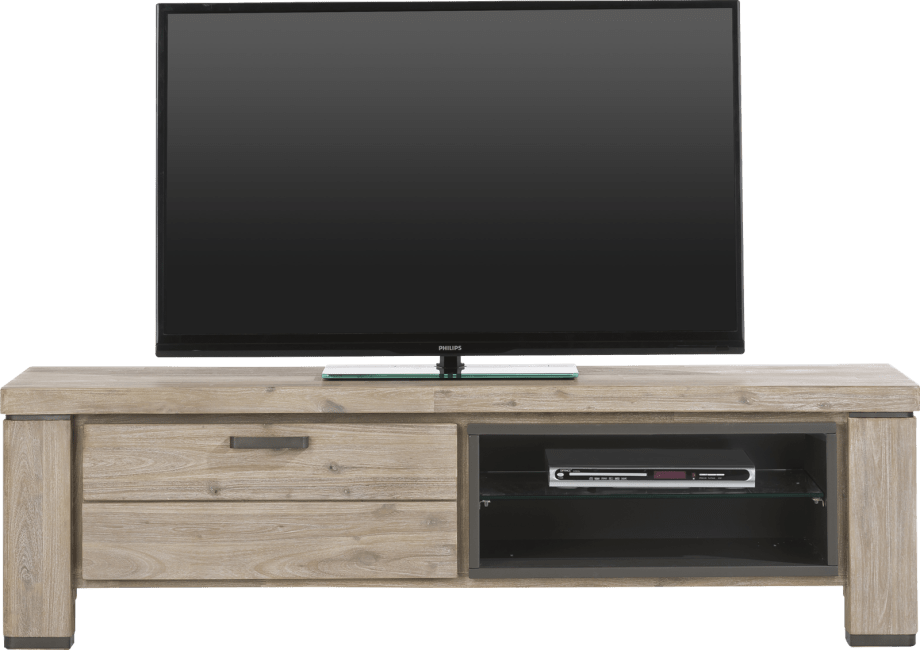 Coiba - tv-dressoir 160 cm - 1-klep + 2-niches
