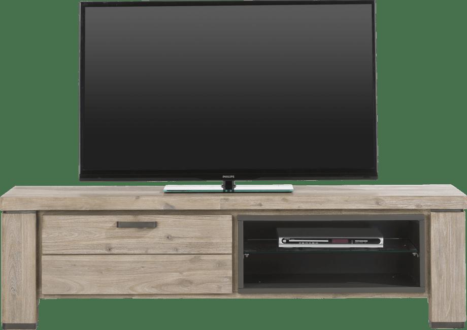 Coiba - tv-dressoir 160 cm - 1-klep + 2-niches