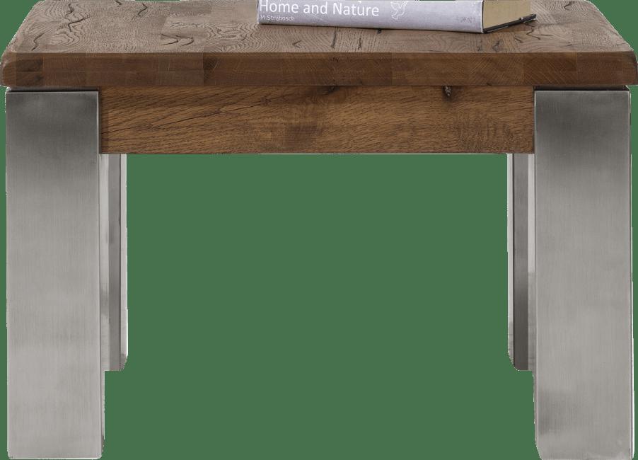 Masters - table basse 60 x 60 cm - inox 9x9