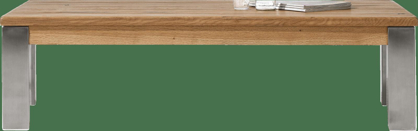 Masters - salontafel 140 x 70 cm - rvs 9x9