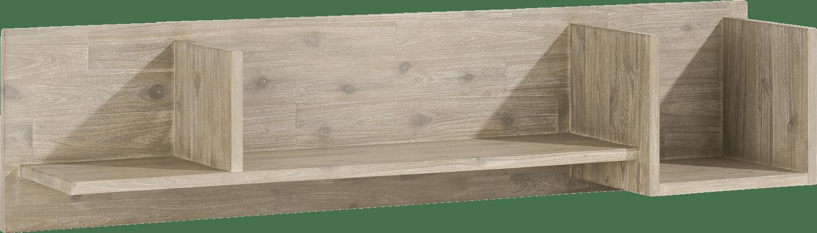Coiba - wandplank 3-niches - 120 cm