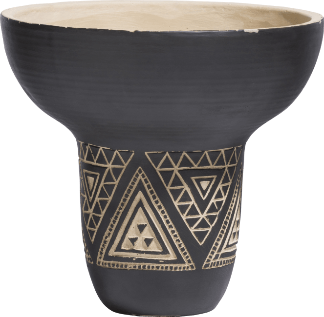Coco Maison - pot kenny medium - zwart