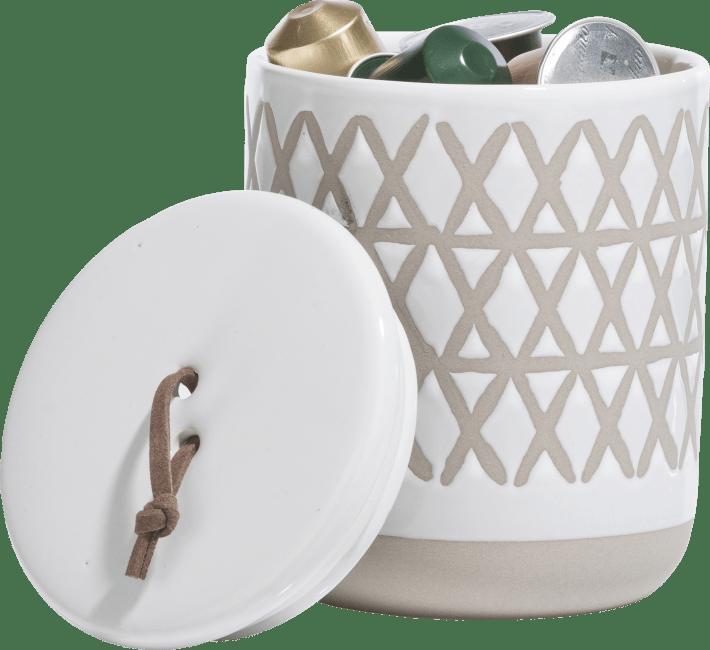 Coco Maison - pot nikki - wit