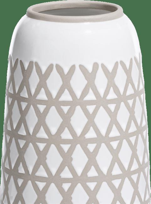 Coco Maison - vase nikki large - blanc