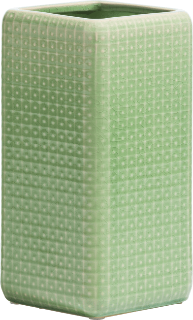 Coco Maison - vaas dots - mint