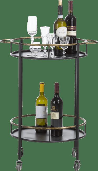 Coco Maison - bar trolley sandra - zwart
